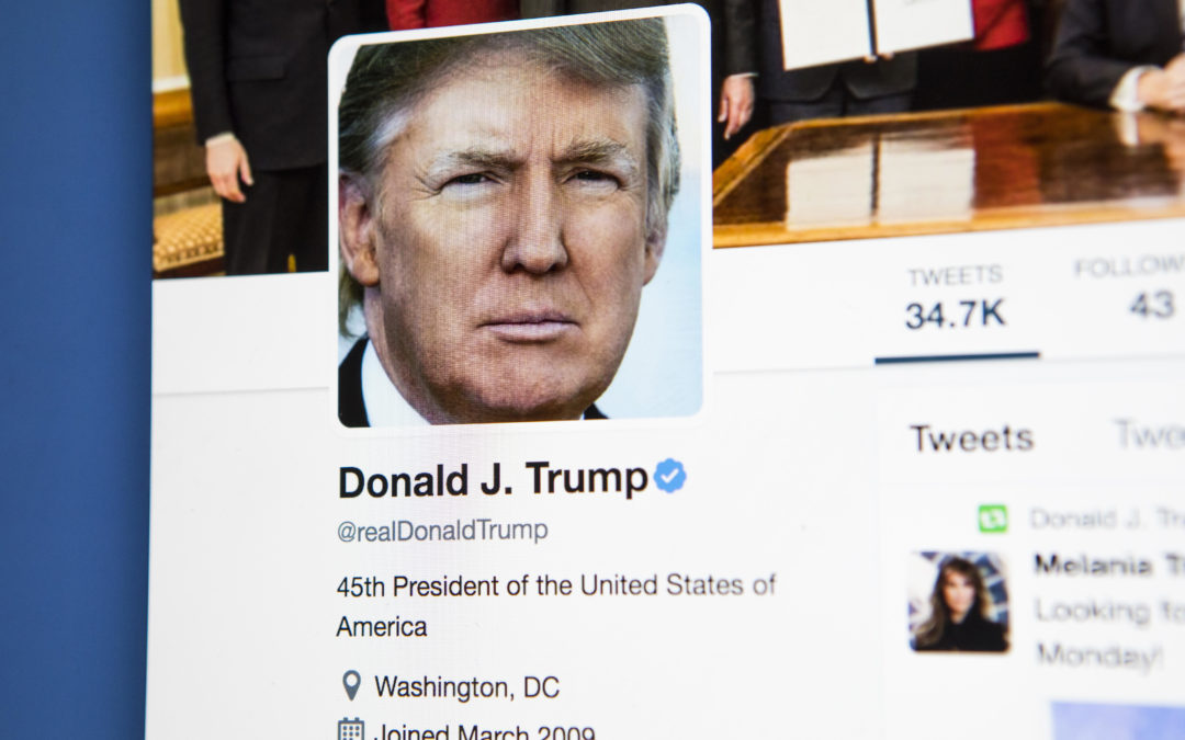 How Donald Trump's recent twitter blasts could crash the market